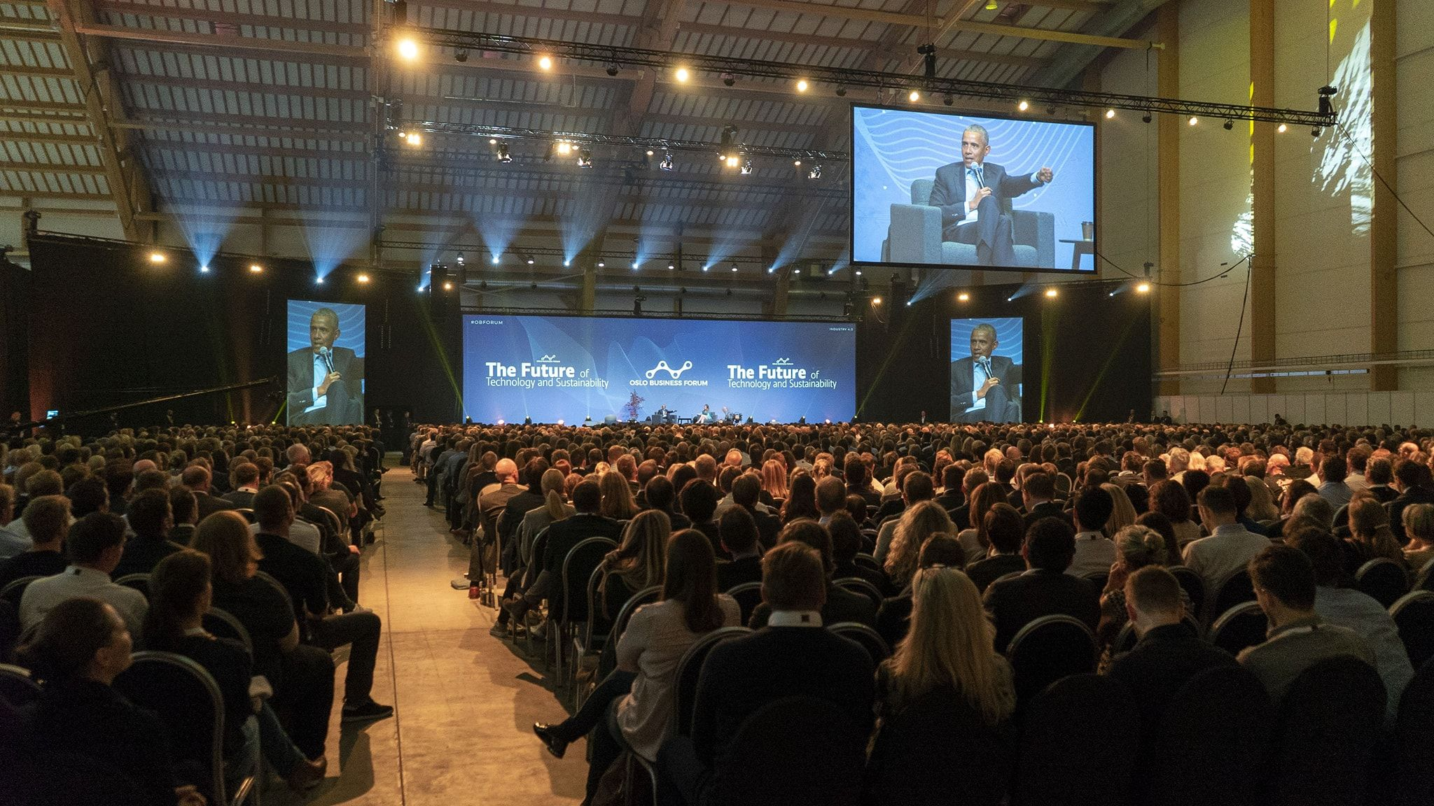Oslo Business Forum Barack Obama